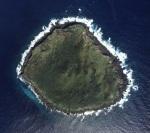 Foto aérea de una de las islas Senkaku/Diaoyu. Fuente: Political Geographic Now.